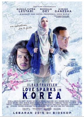 Download Jilbab Traveler Love Sparks In Korea (2016) HDRip 720p Ganool Movie