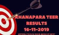 Khanapara Teer Results Today-16-11-2019