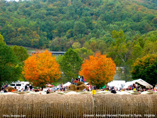 Graves Harvest Festival in Syria, VA. Photo: Cpoyright  Michelle Carr 2013 /  Travel Boldly.com
