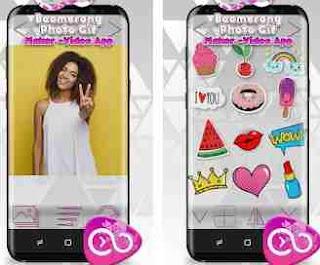 Aplikasi Boomerang dari foto