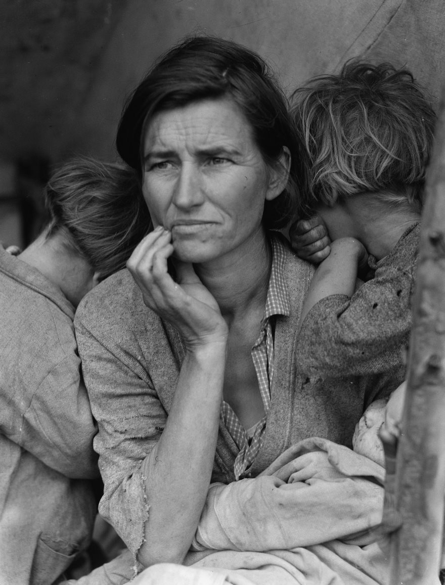 #15 Migrant Mother, Dorothea Lange, 1936 - Top 100 Of The Most Influential Photos Of All Time
