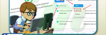 Update Data Lembaga di Emis Madrasah 4.0