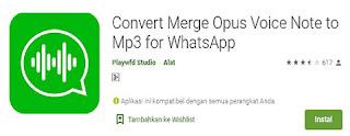 cara simpan voice note dari whatsapp