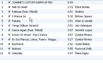 Zumba Music Playlist: Zumba 101