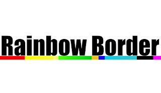 Garis Border Warna-Warni Menggunakan Html Dan Css