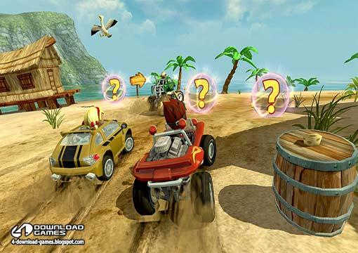 لعبة سباق سيارات الشاطئ Beach Buggy Racing