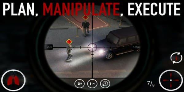 تحميل لعبة Hitman Sniper للاندرويد مهكرة 2018