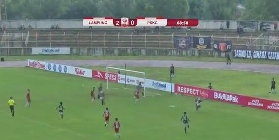 Badak Lampung vs PSKC (Liga 2) Vidio 15 Maret 2020 Mengawali Kompetisi Dengan Kemenangan 2-0