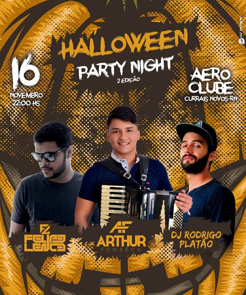 Halloween Party Night 16Nov