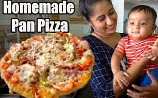 Dosa Tawa Pizza Easy recipe