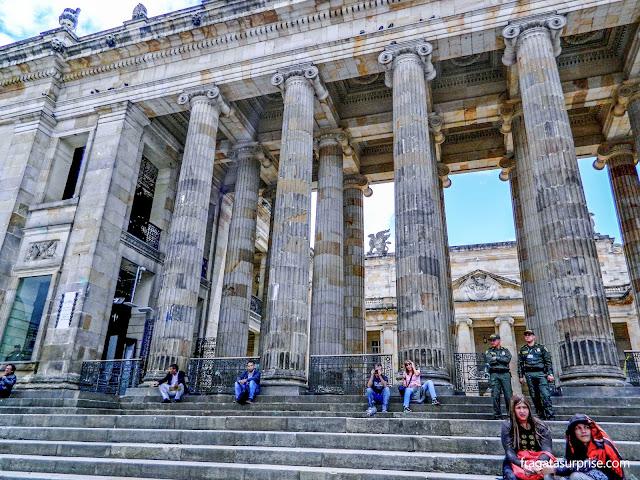 Parlamento da Colômbia, Praça Bolívar, Bogotá