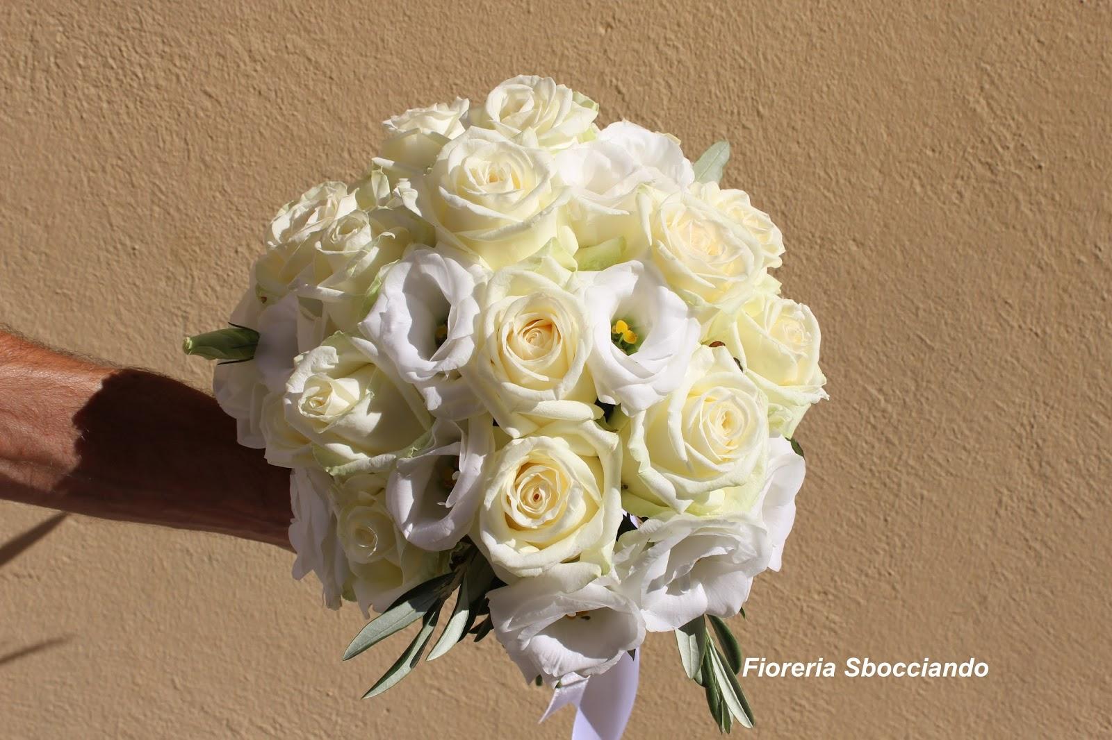 spesso Sbocciando!: Bouquet da Sposa WE72