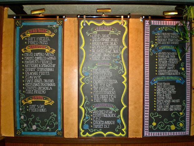 High Five Die Chalkboard Art