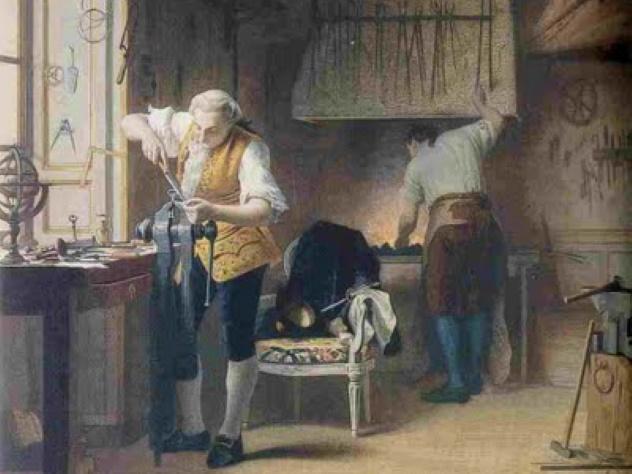 Louis XVI — Tukang Kunci