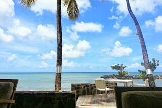 Rendezvous Resort in Malabar Beach  |  Postcard from St. Lucia on *sparklingly