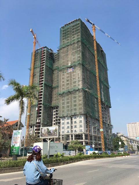Tiến độ xây dựng chung cư Gemek Premium