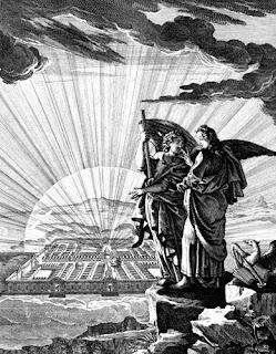 An angel shows John New Jerusalem