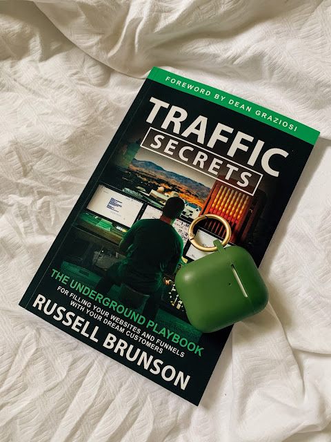 #AD One of the transitional tools I've been using has been reading Russell Brunson's Traffic Secrets: The Underground Playbook for Filling Your Websites and Funnels with Your Dream Customers and participating in the 30-day Traffic Secrets Challenge on my Facebook page and Twitter. Keep reading for more about the book and my experience with the challenge! #TrafficSecrets #RussellBrunson
