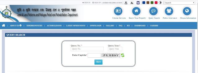 Query Search Banglarbhumi