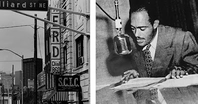 Broadcaster at WERD radio station