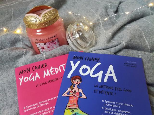 Mon cahier Yoga et Yoga médiation my life is beautiful solar