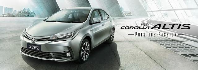Toyota Corolla Altis Terbaru