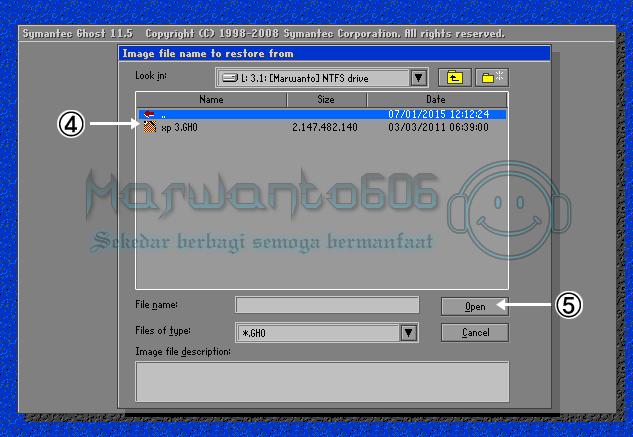 Cara Install Windows XP Dengan menggunakan Norton Ghost