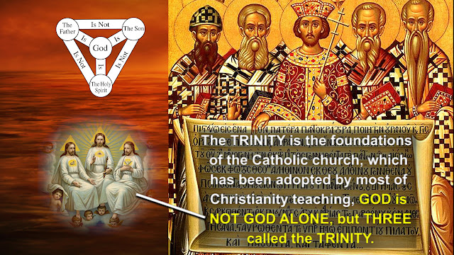 The TRINITY is the foundations of the Catholic church,