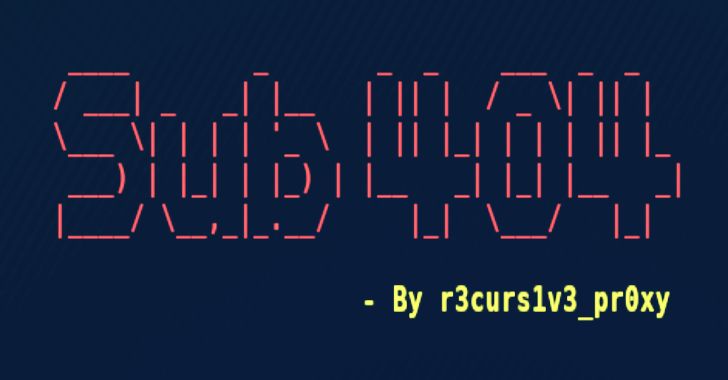 SUB 404 : A Fast Tool To Check Subdomain Takeover Vulnerability