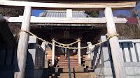 町田市図師の熊野神社 鳥居