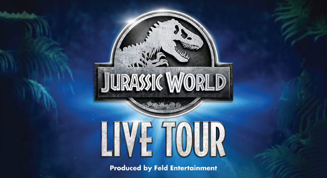 Upcoming and GIVEAWAY: Jurassic World Tour Live, at Little Caesars Arena, November 14-17