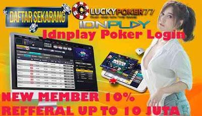 Idnplay Poker Login Poker Online uang Asli Deposit Bank Mandiri