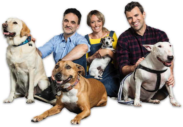 Animal Rescue Live presenters with animals
