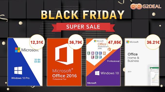 Black Friday στα Windows 10 και στα Microsoft Office