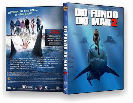 CAPA DVD – Do Fundo Do Mar 2 – DVD-R