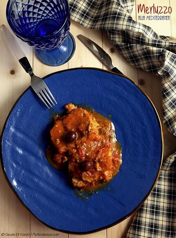 Filetto di merluzzo alla mediterranea