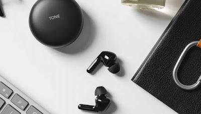 سماعات LG HBS-FN6 التي تنظف نفسها تلقائياً