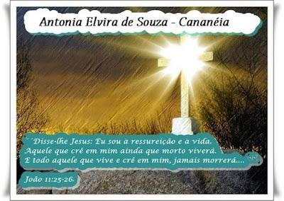 Nota de Falecimento: Antonia Elvira de Souza de Cananéia