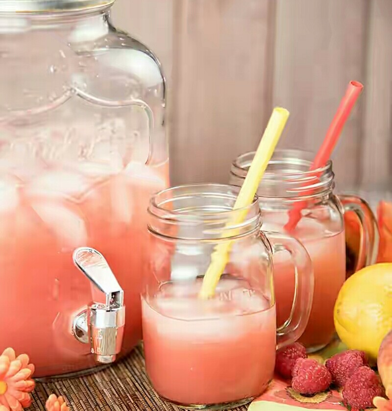 Peach And Raspberry Lemonade Recipe