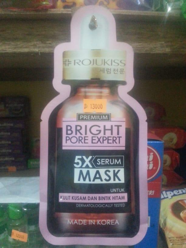 photo produk Rojukiss Bright Pore Expert 5X Serum Mask