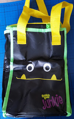Bubblebum Junkie car tidy tote bag