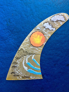Surfboards and art by Paul Carter San Clemente