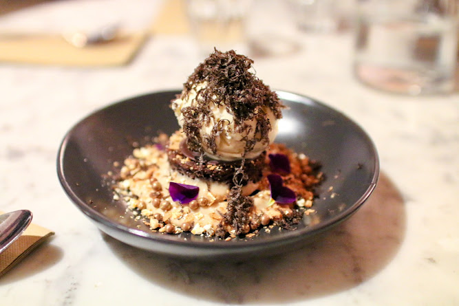 Three Williams Truffle Ice cream Dessert