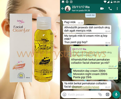 Testimoni Collaskin Facial Cleanser