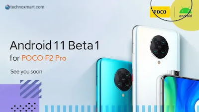 Poco F2 Pro Is Soon Getting Android 11 Beta 1 Update, Xiaomi Sub-Brand Declares
