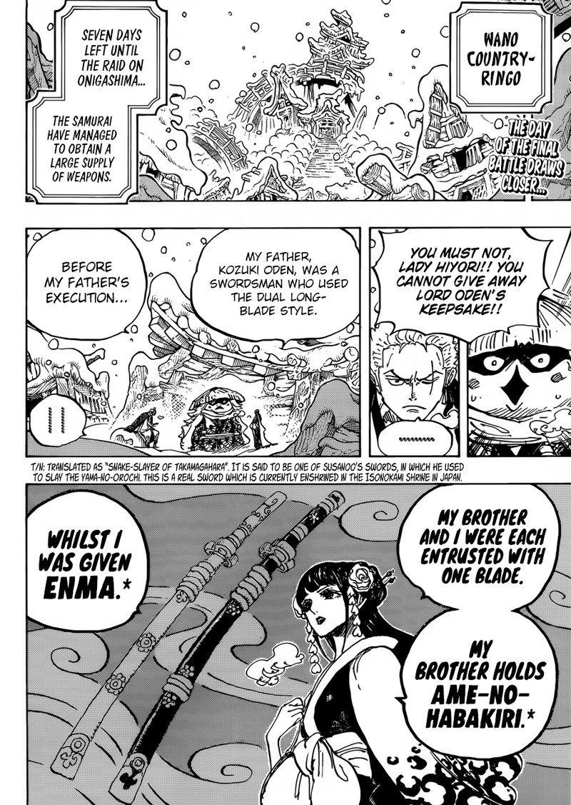 One Piece Manga Chapter 954 - Image 002