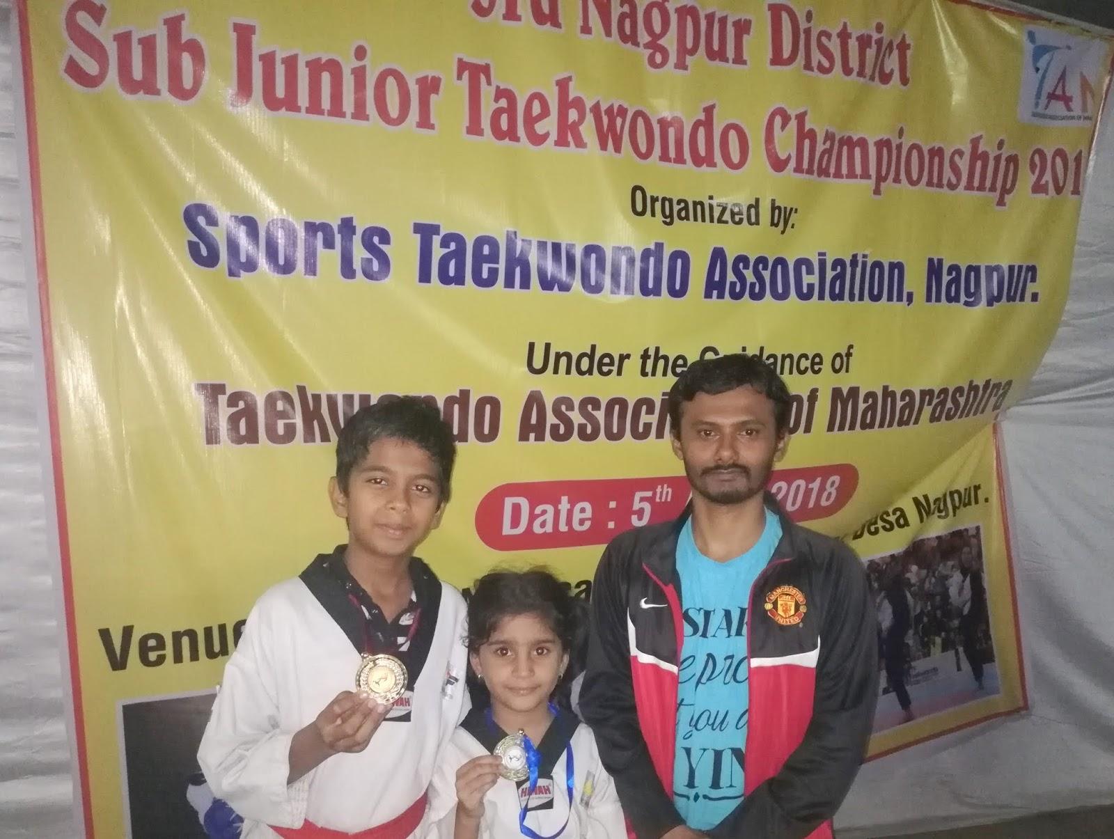 3Rd Sub Junior Taekwondo Championship 2018, NAGPUR.