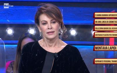 Elena Sofia Ricci concorrente i soliti ignoti 6 gennaio