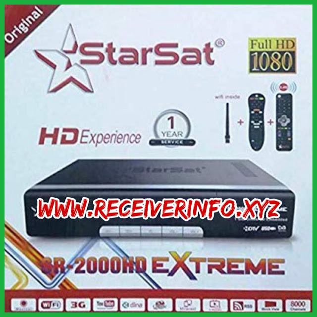 STARSAT 2000-HD EXTREME NEW SOFTWARE
