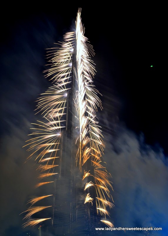 Dubai New Year fireworks 2